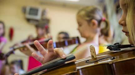 cursos  Iniciación a la música para niños