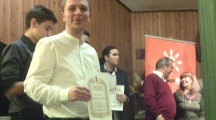 premios  Alejandro Hurtado ganador del XVI Concurso de Guitarra Flamenca para Jóvenes Intérpretes