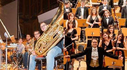 clasica  Conciertos de la Banda Sinfónica y la Orquesta Sinfónica del RCSMM en el Auditorio Nacional