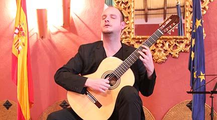 premios  Ivan Petricevic gana el XV Concurso Internacional de Guitarra Comarca el Condado