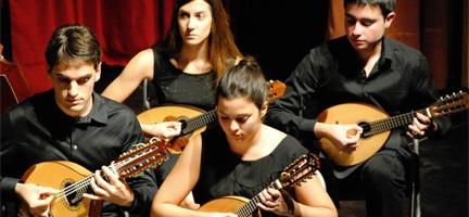 Músicos de la Orquesta Ciudad de la Mancha