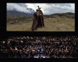 'La comunidad del anillo' concierto-proyección OCNE