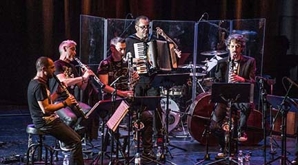 jazz  LRollin Clarinet Band presenta su disco LRollin Roads