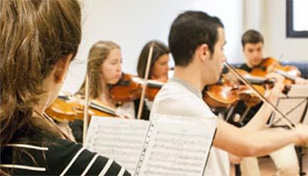 universidad  Jornadas de puertas abiertas de la Facultad de Música y artes escénicas de la UAX