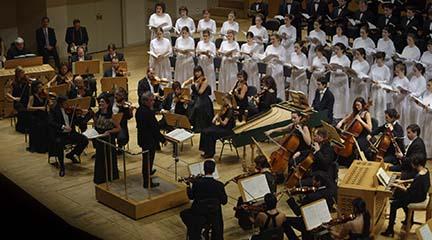 clasica  Un Réquiem alemán, de Brahms cobra vida con el Orfeón Donostiarra y la Orquesta de Cámara Andrés Segovia