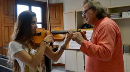 cursos de verano  Cursos de Verano de la Escuela Internacional de Música de la Fundación Princesa de Asturias