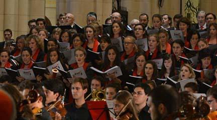 pruebas de acceso  Audiciones para el Coro de la JMJ y para la recién creada Escolanía