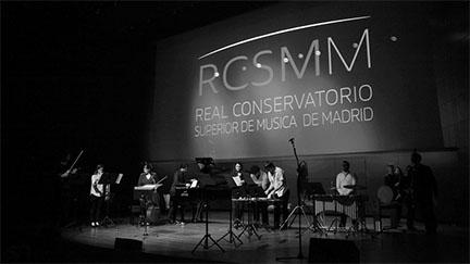 actualidad de centros  Concierto en el Auditorio 400 del Grupo de Música Contemporánea del RCSMM