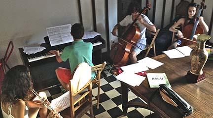 cursos de verano  V Campus Musical Noja 2015