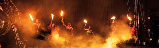 festivales  El Festival de música y danza de Granada cierra con El amor brujo en versión de la Fura dels Baus