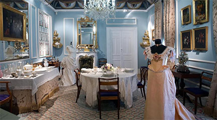 notas  'Los trajes del Real' en el Museo del Romanticismo