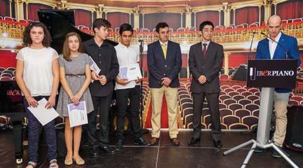 premios  Iberpiano entrega sus becas musicales