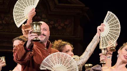 lirica  El Teatro de la Zarzuela recupera Galanteos en Venecia