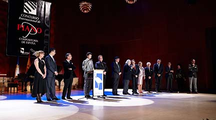 concursos  26 pianistas de todo el mundo en el 16º Concurso Internacional de piano compositores de España