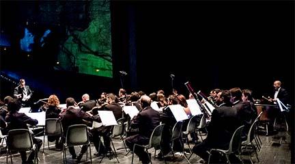 clasica  Concierto de la Partiture Philharmonic Orchestra en el Palacio de Villardompardo