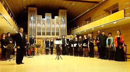antigua  Jóvenes intérpretes de la Escuela Superior de Canto y el RCSMM en la Fundación Juan March