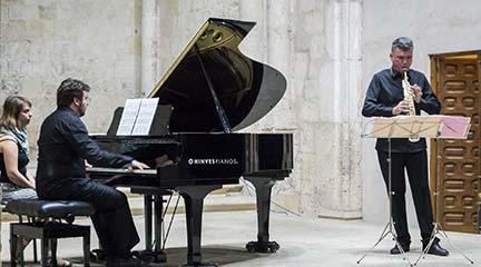 contemporanea  Recital de piano y saxofón dentro del Ciclo Música para el tercer milenio