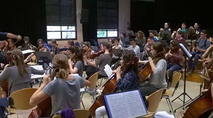pruebas de acceso  Audiciones para Jove Orquestra Simfònica de Barcelona