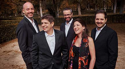 clasica  Granados y Turina con el Cuarteto Quiroga y Javier Perianes