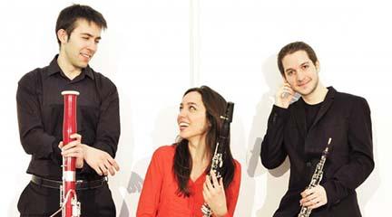 clasica  Aëris Trio acerca la mejor música de viento al auditorio del Lázaro Galdiano