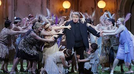 lirica  El Teatro Real, RTVE e Hispasat impulsan la emisión de la ópera en directo y tecnología 4K