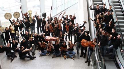 contemporanea  El Ensemble 20/21 de la JORCAM alrededor de Schoenberg, Moliner, Boulez, Tallis y Kroll