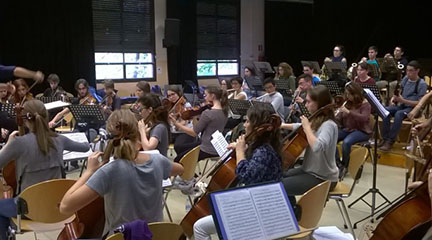 pruebas de acceso  Audiciones para la Jove Orquestra Simfònica de Barcelona