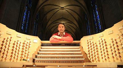 antigua  Olivier Latry, organista de Notre Dame, protagonista de la última cita de Bach Vermut