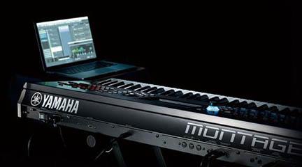 instrumentos  Demo Sessions de Yamaha Montage en Microfusa