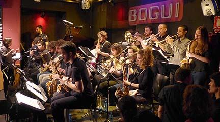 actualidad de centros  La Escuela Popular de Música celebra sus 20 años en Bogui Jazz