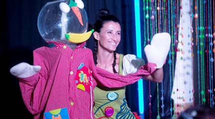 para ninos  I Festival Teatro para Bebés de la Sala Tarambana