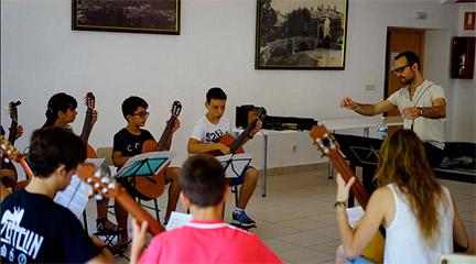 cursos de verano  IV Curso Festival Internacional de Guitarra Ex Corde