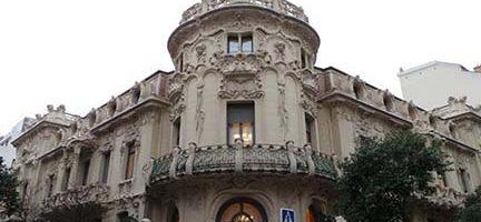 Palacio de Longoria. Sede de la SGAE