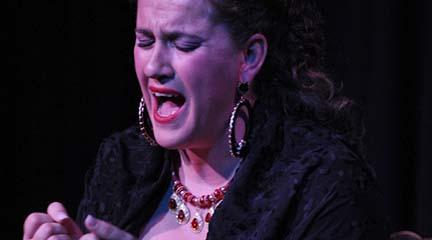 espanola  Flamenco Joven en Conde Duque con futuras promesas