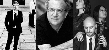 Neopercusión. Uri Caine. Mª Eugenia Boix + Guillermo Turina + Tomoko Matsuoka