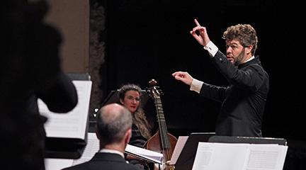 opinion  Heras Casado hace brillar el Monteverdi sacro