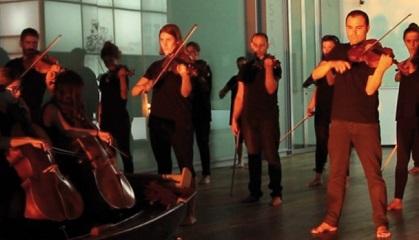 contemporanea danza  El Centro Cultural Miguel Delibes acoge el espectáculo Terra, una fusión innovadora de música, teatro y danza