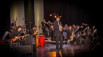 jazz  Leganés Big Band con Noa Lur en Bogui jazz