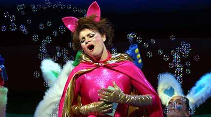 para ninos  El gato con botas con música de Montsalvatge, en el Teatro Real