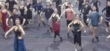 Audición para Zarzuela en Danza. Foto de Nuria Castejón