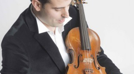 clasica  La Real Filharmonía de Galicia suena con el violín de Amaury Coeytaux