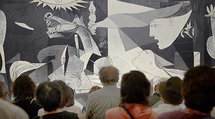 contemporanea danza  Danza alrededor del 80 aniversario del Guernica de Picasso, en el Museo Reina Sofía
