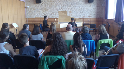 cursos de verano 2017  IV Curso Internacional de Música Antigua