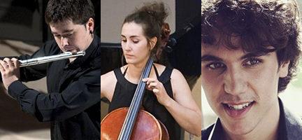 Xabier Calzada (Flauta) Belén Fernández (Violonchelo) Aitor Cano Ramos (Piano)