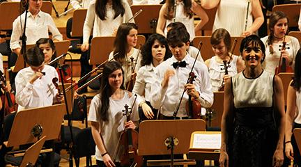 clasica  Héroes, mitos y leyendas, el concierto solidario de la Orquesta Infantil y Juvenil EOS