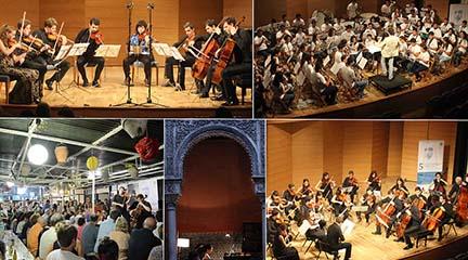 pruebas de acceso  Convocatoria para instrumentistas del Festival Turina