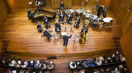 contemporanea  La Sinfonietta de la Escuela de Música Reina Sofía gira alrededor de Ligeti, Lindberg, Birtwistle y Widmann