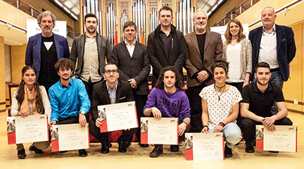 premios  Ganadores del 87 Concurso Permanente de Juventudes Musicales de España