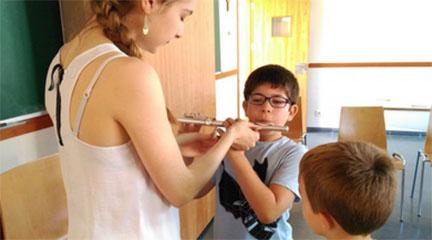 cursos de verano 2017  Campamento urbano Música en Verano