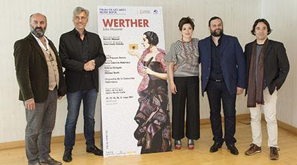 lirica  El Palau de les Arts retoma el repertorio francés con Werther, obra cumbre de Jules Massenet